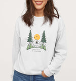 In The Woods | Vegan Crewneck