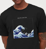 Keep The Ocean Blue | Vegan Mens Tee