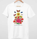 Live Simply Bloom Wildly | Vegan Mens Tee