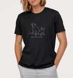 Love All Animals | Vegan Mens Tee