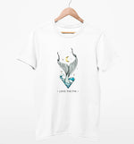 Love The Fin | Vegan Mens Tee