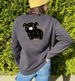 Midnight Pig | Vegan Crewneck