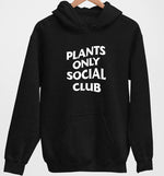 Plants Only Social Club | Vegan Hoodie