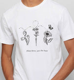 Plant these Save the Bees | Vegan Mens Tee