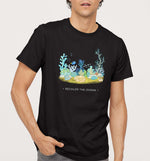 Recolor The Ocean | Vegan Mens Tee