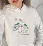 Rewild The World | Vegan Hoodie