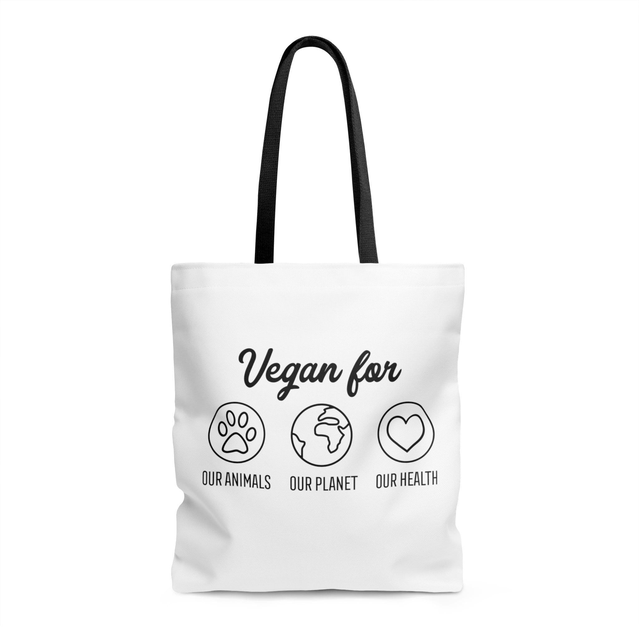 The Vegan Vibe Store Bags 16x16 in Vegan For | Vegan Tote Bag