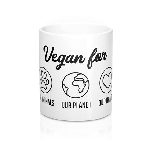 Vegan For | Vegan Tote Bag