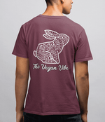 The Vegan Vibe Store T-Shirt Floral | Mens tee