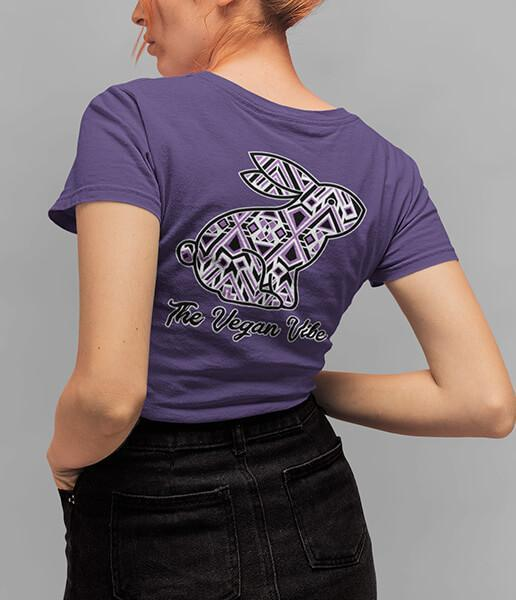 The Vegan Vibe Store T-Shirt Mozaic | Womens tee