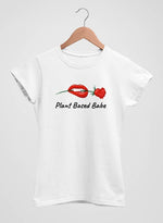 The Vegan Vibe Store T-Shirt Plant Based Babe | Vegan Womens Tee