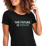 The Future Is Vegan | Vegan Womens Tee