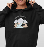 Keep The Wilderness Wild | Vegan Hoodie