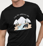 Keep The Wilderness Wild | Vegan Mens Tee