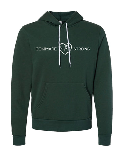COMMARE STRONG -- Bella Fleece Hoodie (3 color options available!!)