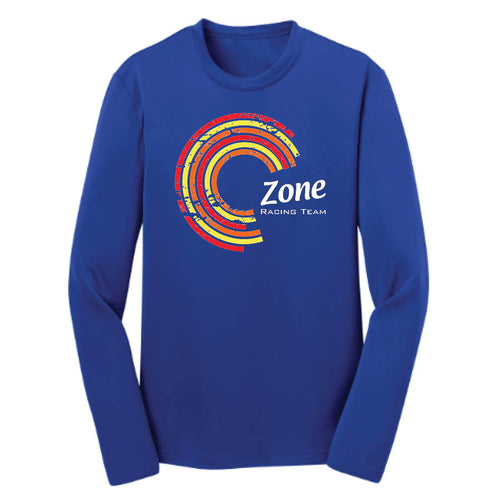 YOUTH Sport Tek L/S Tech Tee -- Team Colors