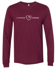 COMMARE STRONG -- Bella Unisex Long Sleeve Tee (3 color options available!!)