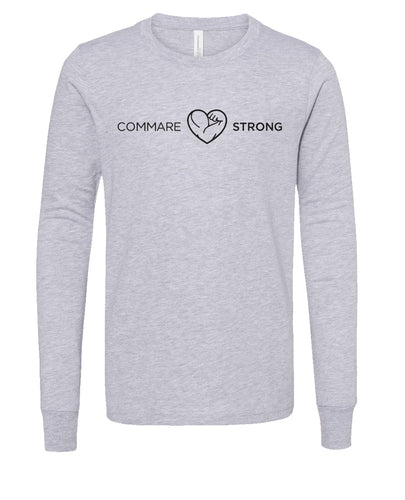COMMARE STRONG -- Bella Youth Long Sleeve Tee (2 color options available!!)