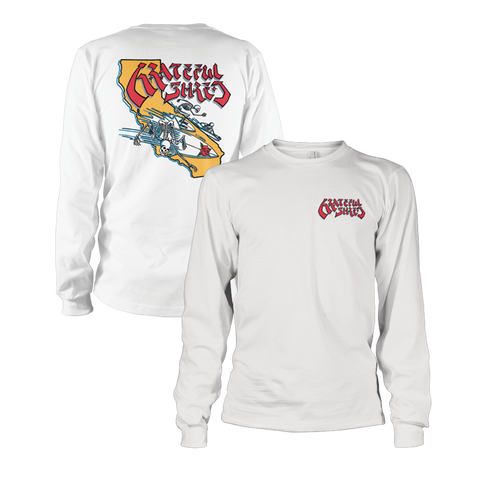 Surf California Longsleeve T-Shirt