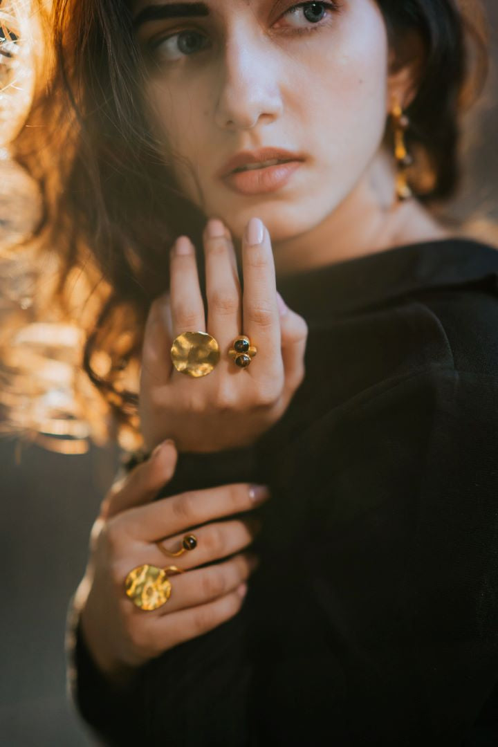 Aliza Ring (Tiger Eye)