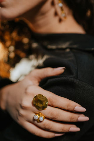Saiya Ring (Tiger Eye)