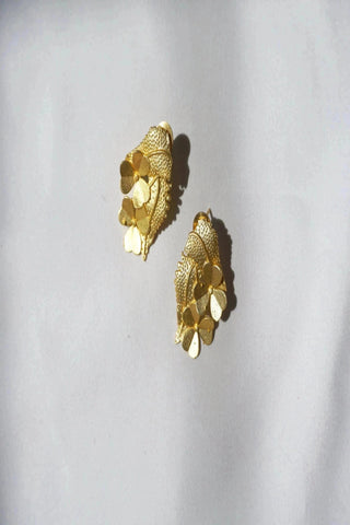 MEEZA EARRINGS (IVORY)
