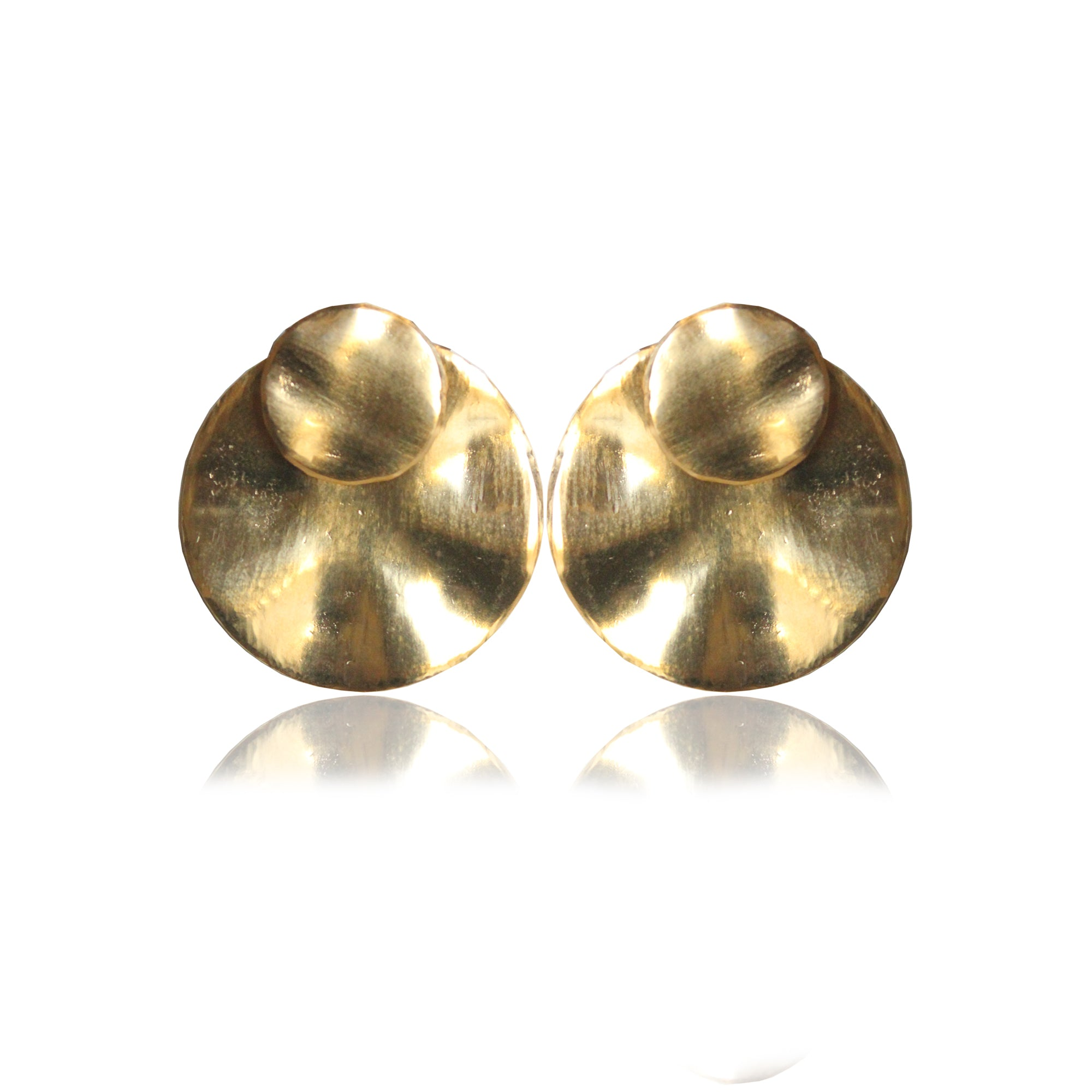 FAYE STUDS (DETACHABLE/GOLD)