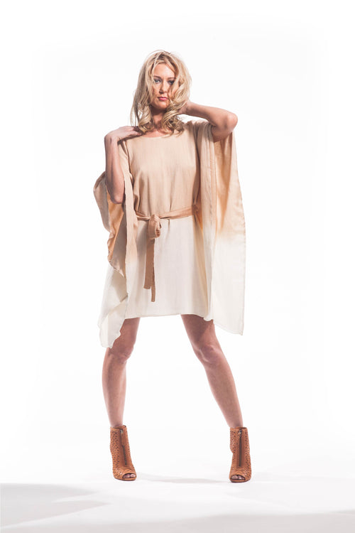 OMBRE KAFTAN DRESS