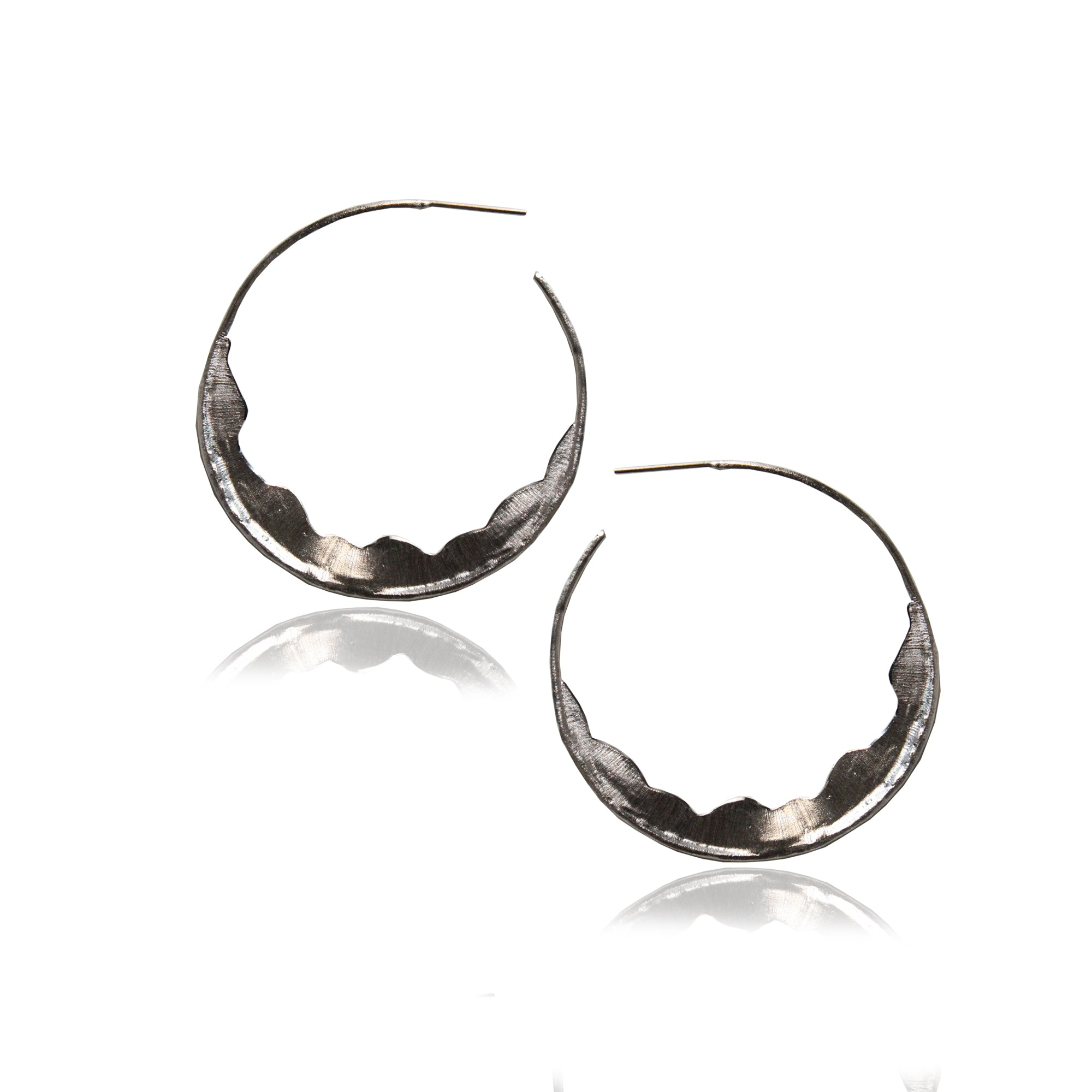 AINA HOOPS (SILVER)