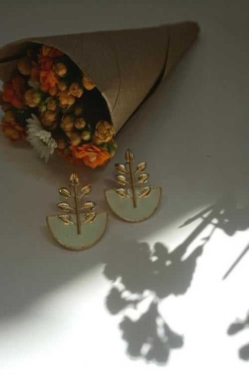 TULSI EARRINGS (MINT)