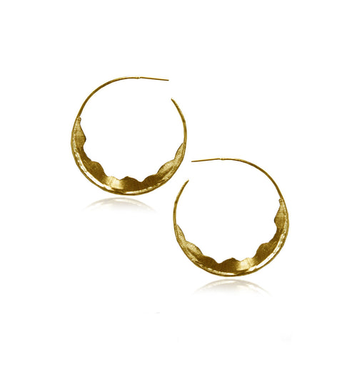 AINA HOOPS (GOLD)