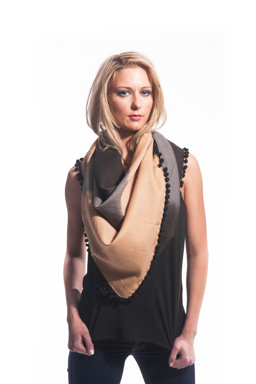 OMBRE WOOL LUXE SCARF