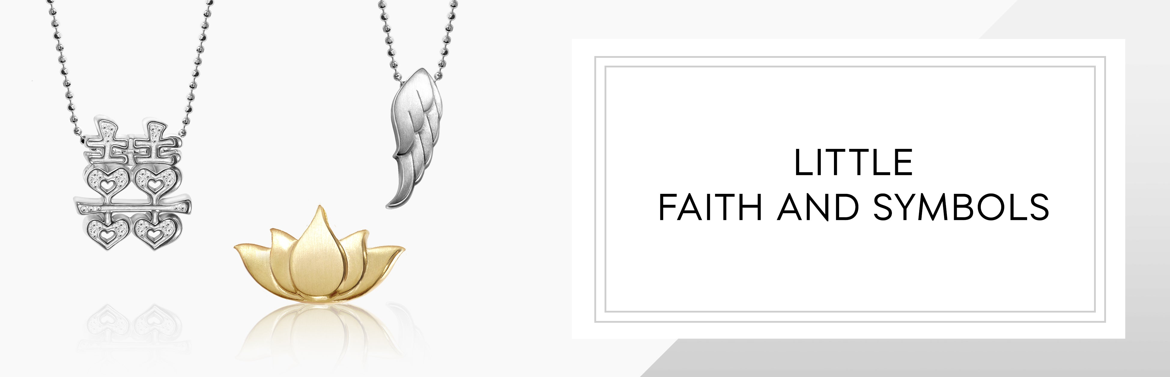 Little Faith Symbols Alex Woo Jewelry