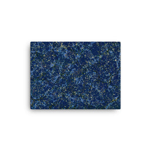 Dance of Dark Blue - Canvas