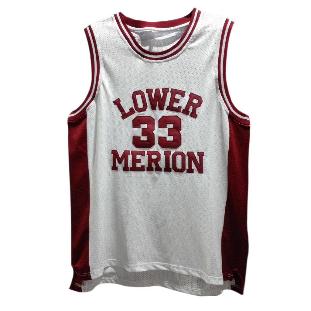 74e697a96 Kobe Bryant 33 Lower Merion High School Basketball Jersey . ...