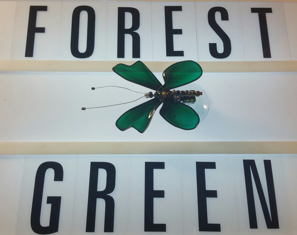 Forest Green Butterfly
