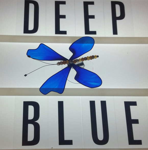 Deep Blue Butterfly