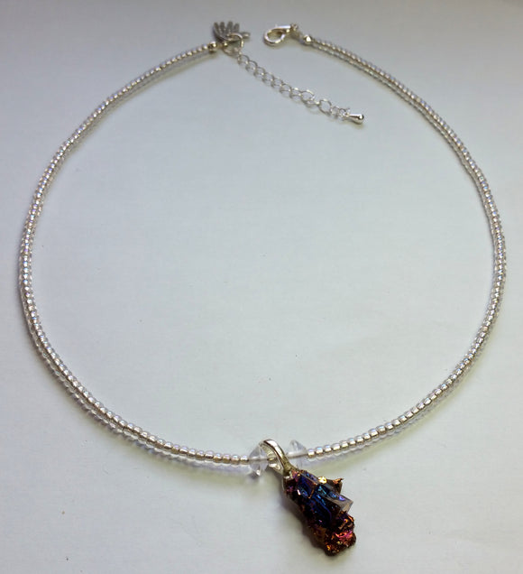 Bismuth Necklace