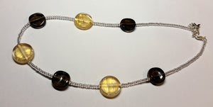 Gold & Black Coins