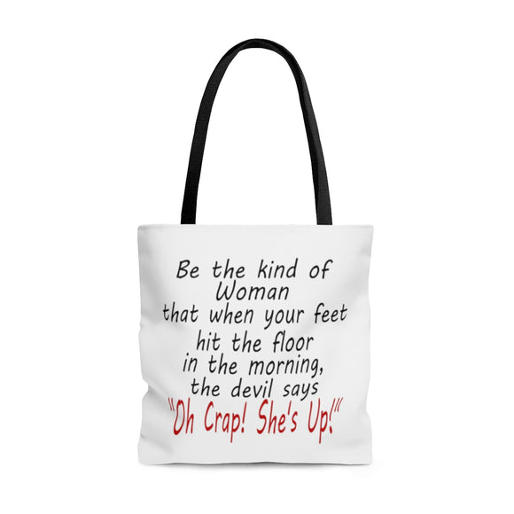 The Kind of Woman AOP Tote Bag