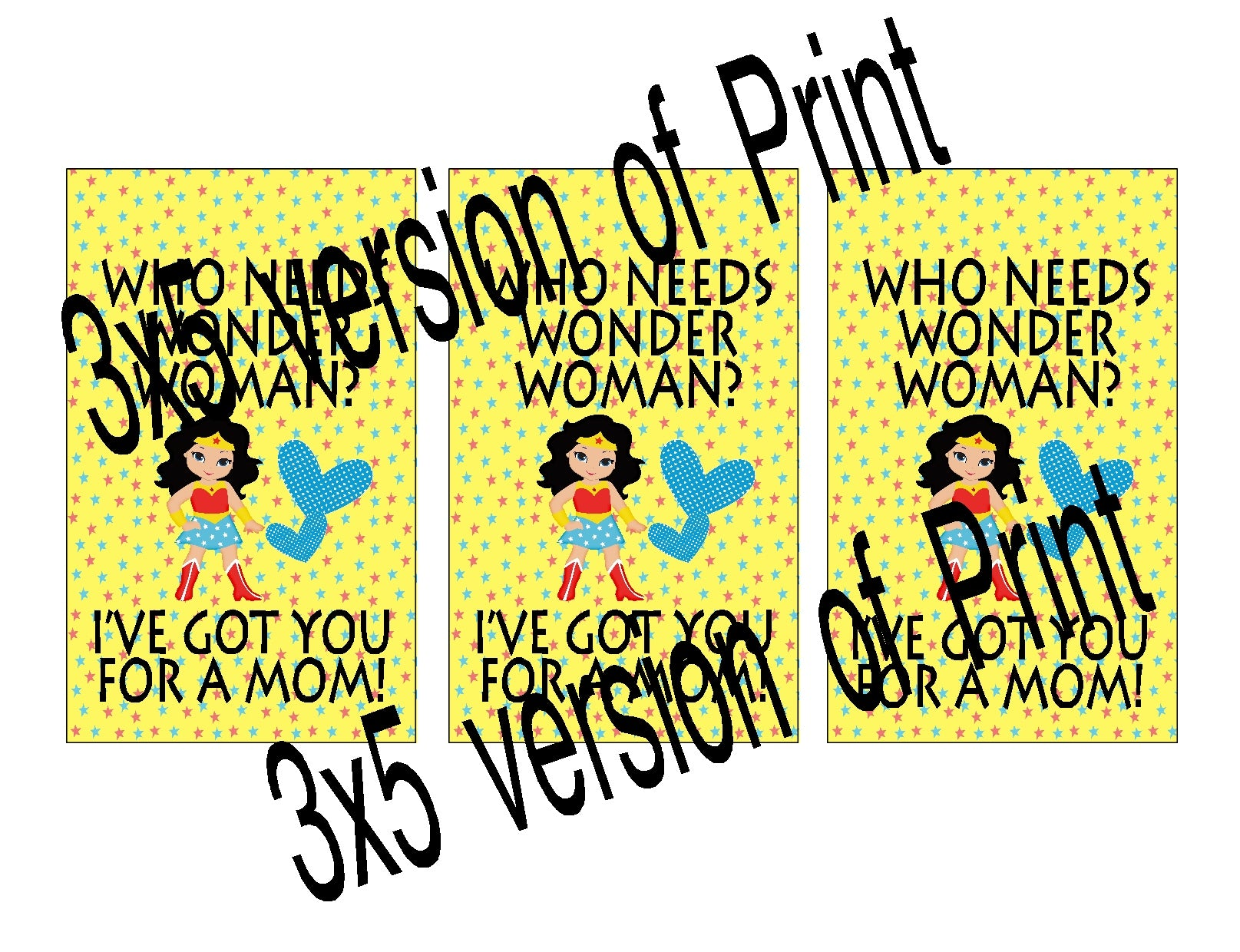 photo about Wonder Woman Printable named Mother Ponder Lady Quotation Printable EverydayParties