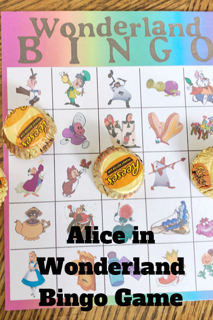 Need a fun game for your Alice in Wonderland party? This Wonderland bingo game is the perfect party game for all your guests. With a whimsical design and all your favorite characters, you can print this bingo game today for some fun tonight.