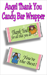 Thank You for all that you do....you are the best! Say thank you to someone with this card and gift in one! This chocolate bar and wrapper is the perfect way to show someone your thanks and love.
