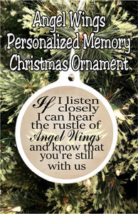 Memory Photo Personalized Christmas Ornament