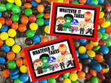 Avengers Printable Bag Topper