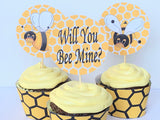 Honeycomb Bee Cupcake Wrapper