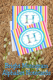 Create beautiful spring notecards with these bright monogram H notecards.  Note cards are simple to print and use and will make writing someone a super special note.