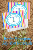 Create beautiful spring notecards with these bright monogram T notecards.  Note cards are simple to print and use and will make writing someone a super special note.