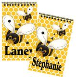 Bumble Bee Baby Shower Personalized Notebook Party Favor