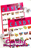 Enjoy a little extra bit of candy at your Candyland birthday party, your Valentine's day party, or any girl's night out with this printable candy bingo game. Game can be downloaded, printed, cut, and played today so have a chocolate night out now.